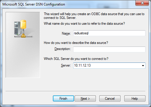Create a New Data Source to SQL Server(Data Source)