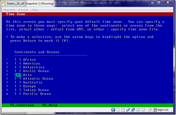 Solaris_10installation_on_VirtualBox_Time_Zone