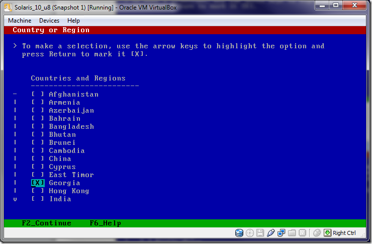 Solaris_10installation_on_VirtualBox_Country_Region