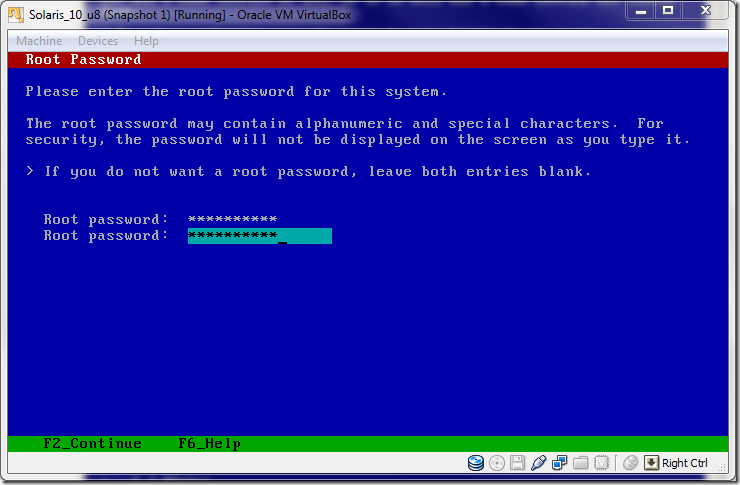 Solaris_10installation_on_VirtualBox_Root_Password