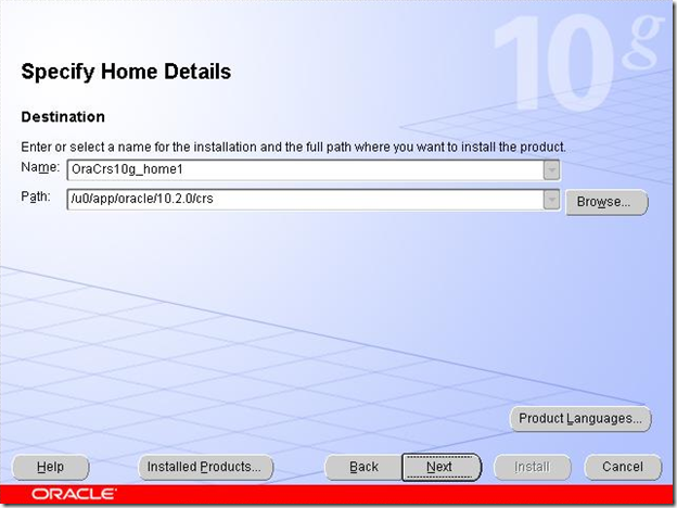 Specify Home Details