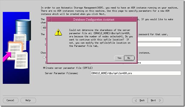 {ORACLE_HOME}/dbs/spfile+ASM error