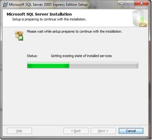 Microsoft SQL Server 2005 Setup Microsoft SQL Server Installation