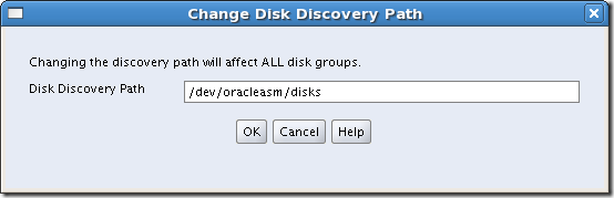 Screenshot-Change Disk Discovery Path