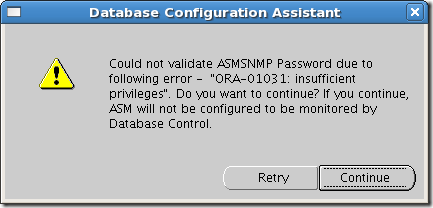 Screenshot-Database Configuration Assistant