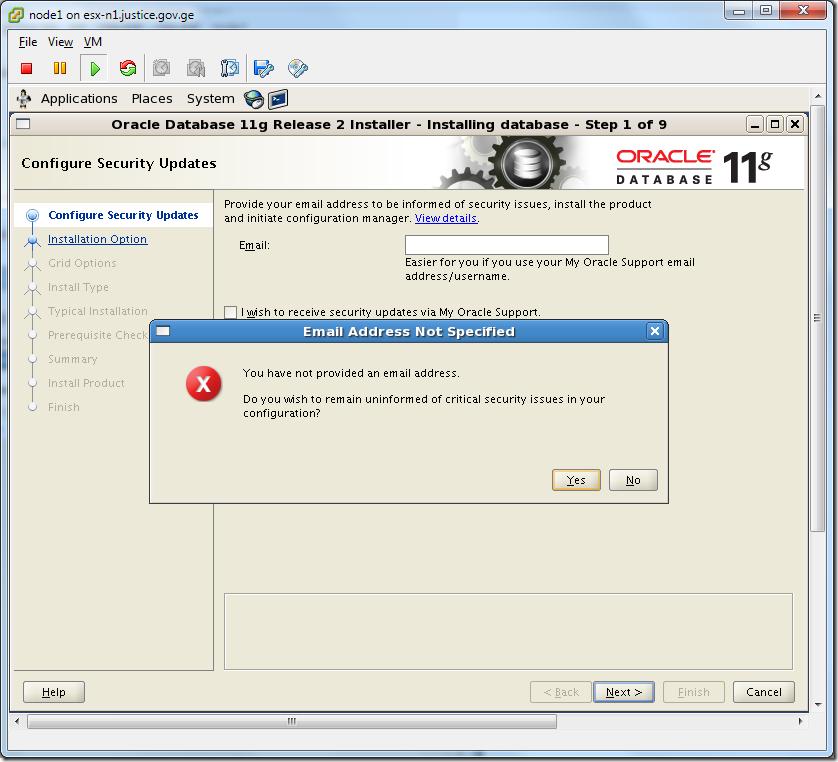 Virtual Machine_Oracle_Database_Installation