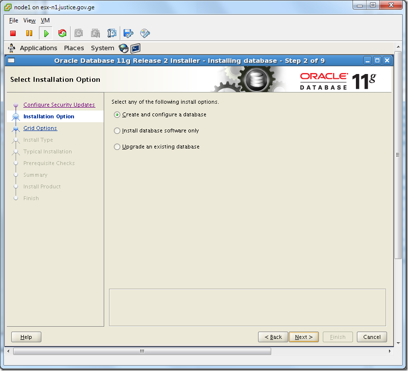 Virtual Machine_Oracle_Database_Installation_Create_and_Configure_Database