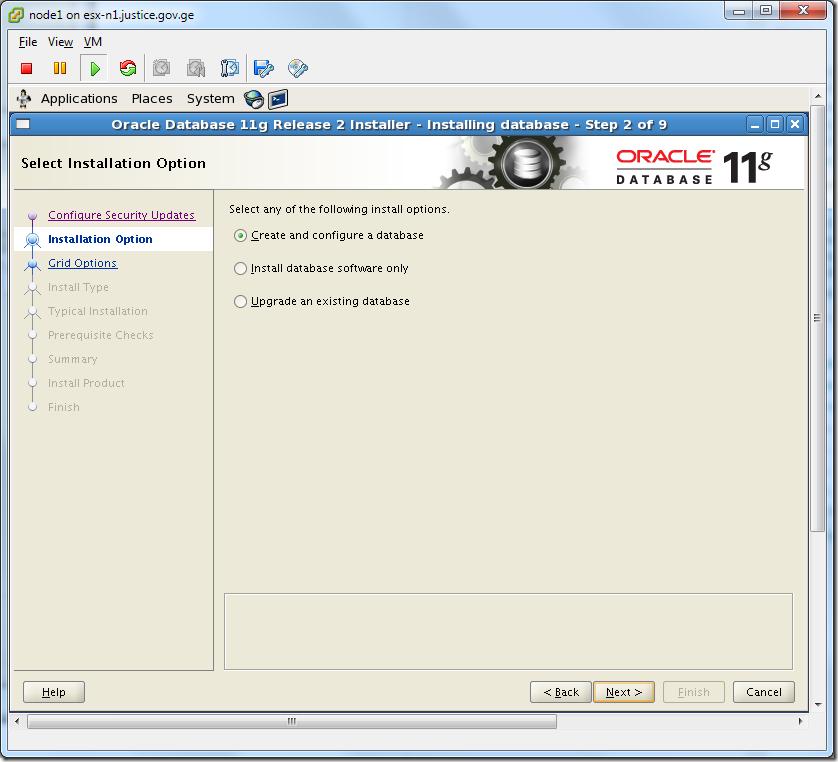 Virtual Machine_Oracle_Database_Installation_Create_and_Configure_Database