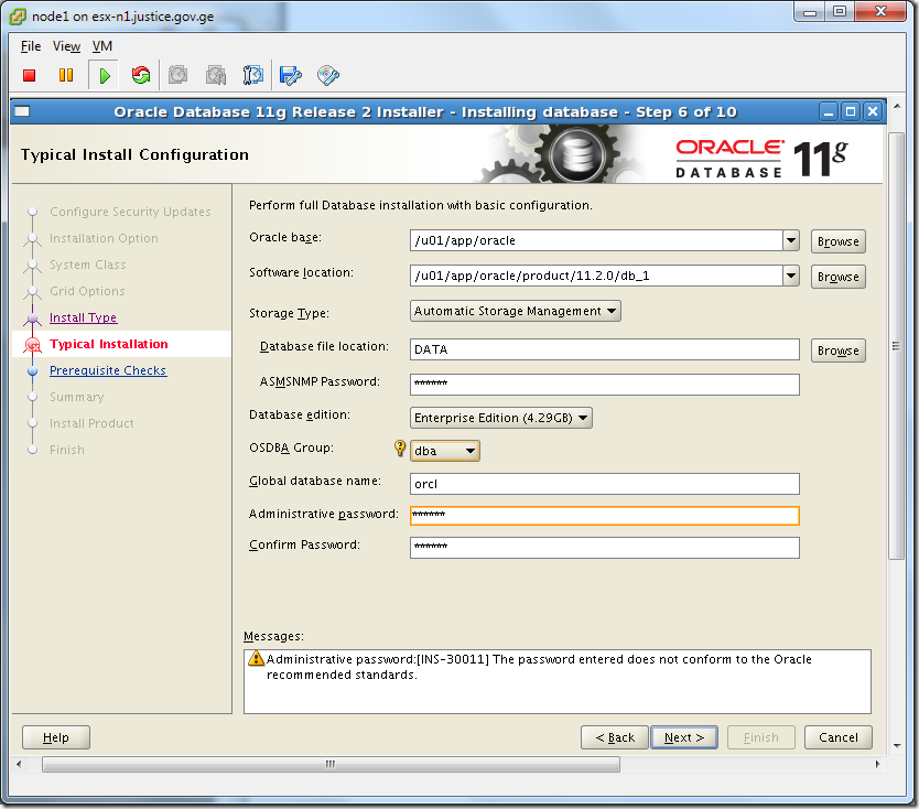 Virtual Machine_Oracle_Database_Installation_Configuration