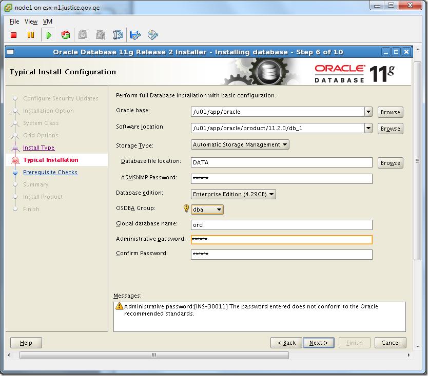 Virtual Machine_Oracle_Database_Installation_Configuration