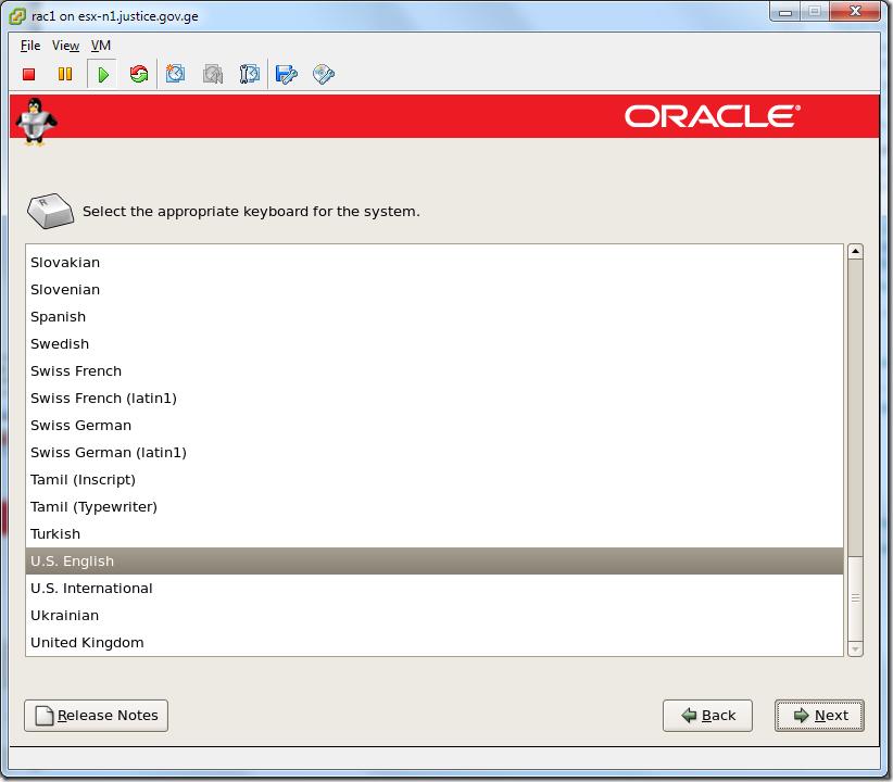 Virtual Virtual Machine_Enterprise_Linux_Setup_Keyboard