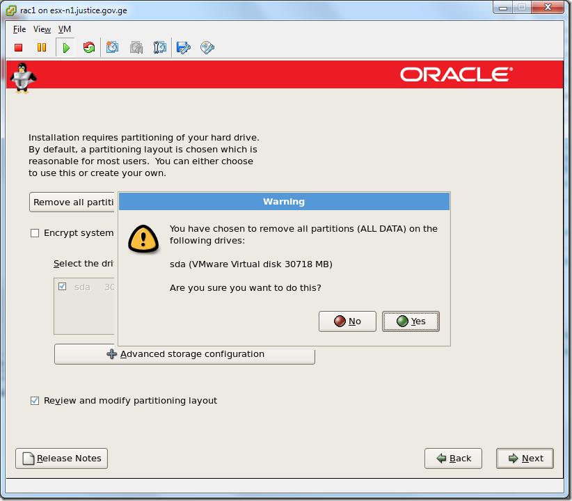 Virtual Machine_Enterprise_Linux_Setup_partition