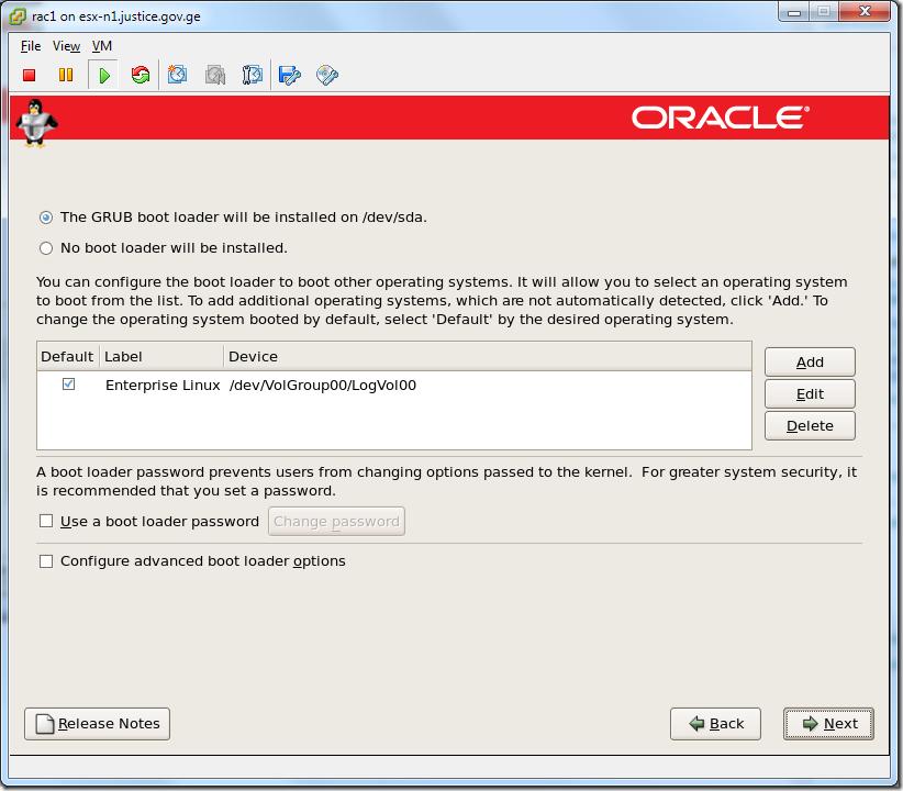 Virtual Machine_Enterprise_Linux_Setup_bootloader