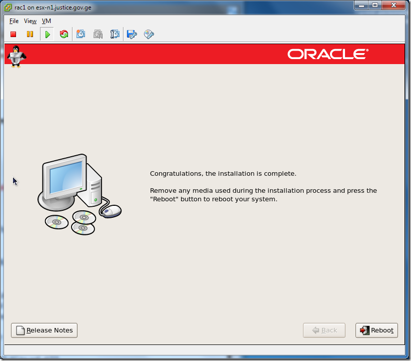 Virtual Machine_Enterprise_Linux_Setup