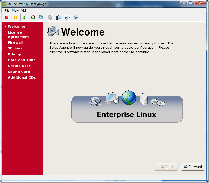 Virtual Machine_Enterprise_Linux_Setup
