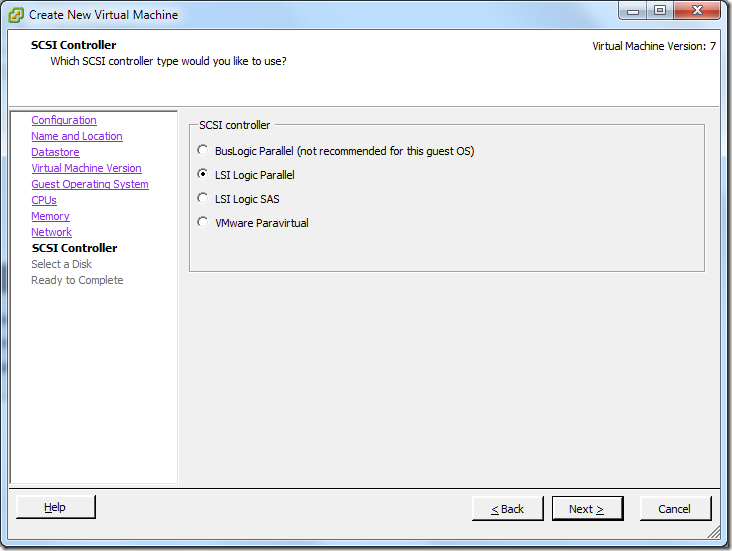 Create New Virtual Machine_Controller