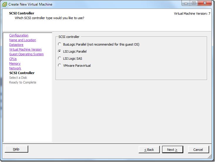 Create New Virtual Machine_Controller