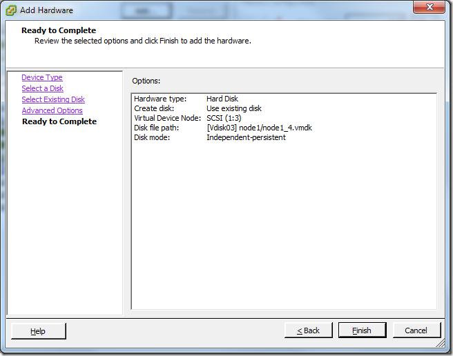 Virtual Machine_Add_Hard_Disk_Summary