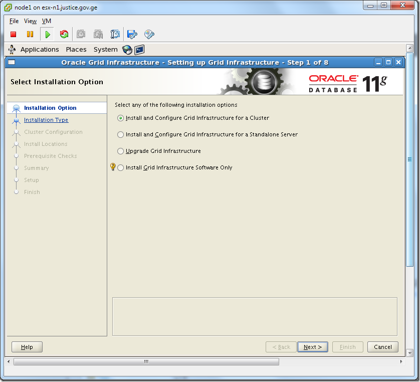 Virtual Machine_Install_and_Configure_Grid_Infrastructure