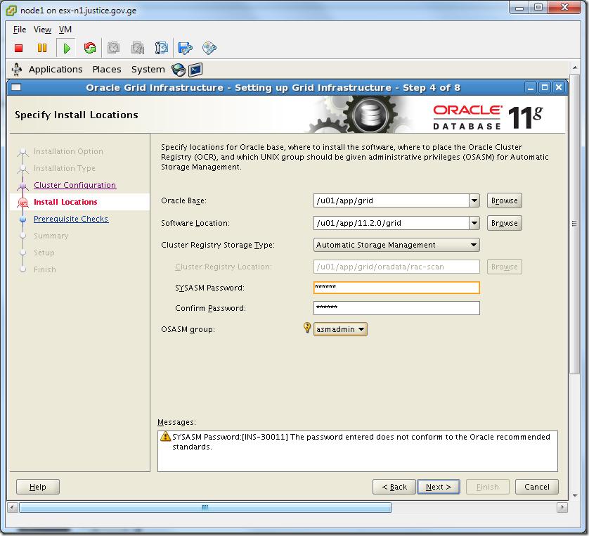 Virtual Machine_Grid_Installation_location