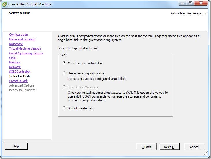 Create New Virtual Machine_Create_New_VD