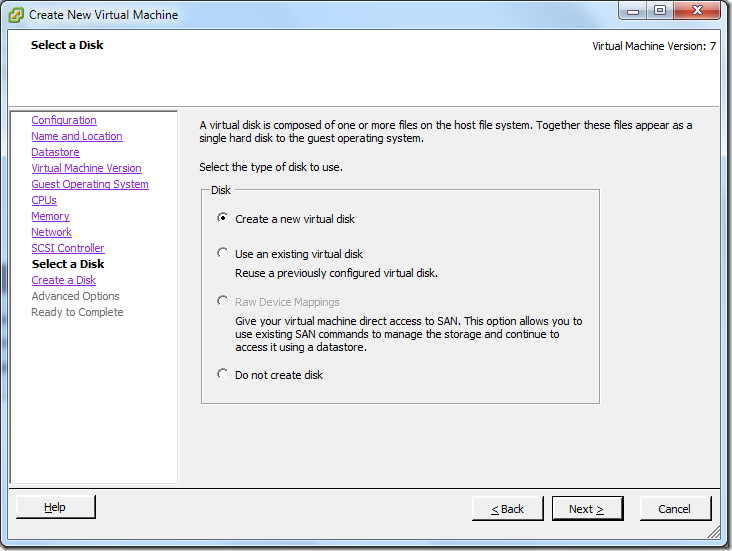 Create New Virtual Machine_Create_New_VD