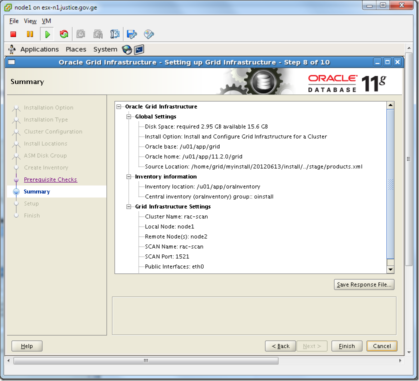 Virtual Machine_Grid_Installation_Summary
