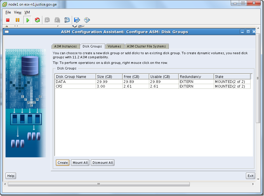 Virtual Machine_Grid_Installation_asmca