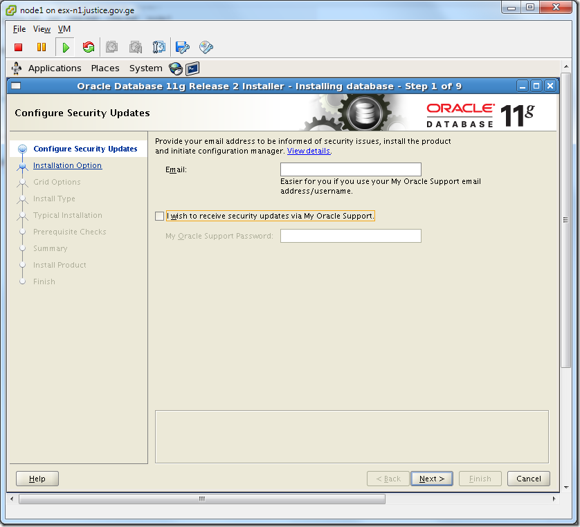 Virtual Machine_Oracle_Database_Installation