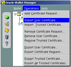 Configure Oracle database to use SSL with self-signed certificate